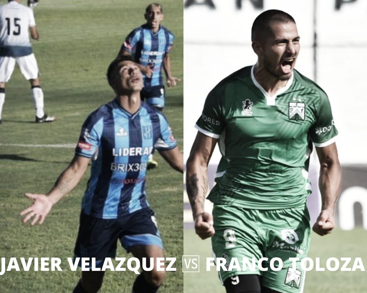 Franco Toloza vs Javier Velázquez: Las llaves del gol