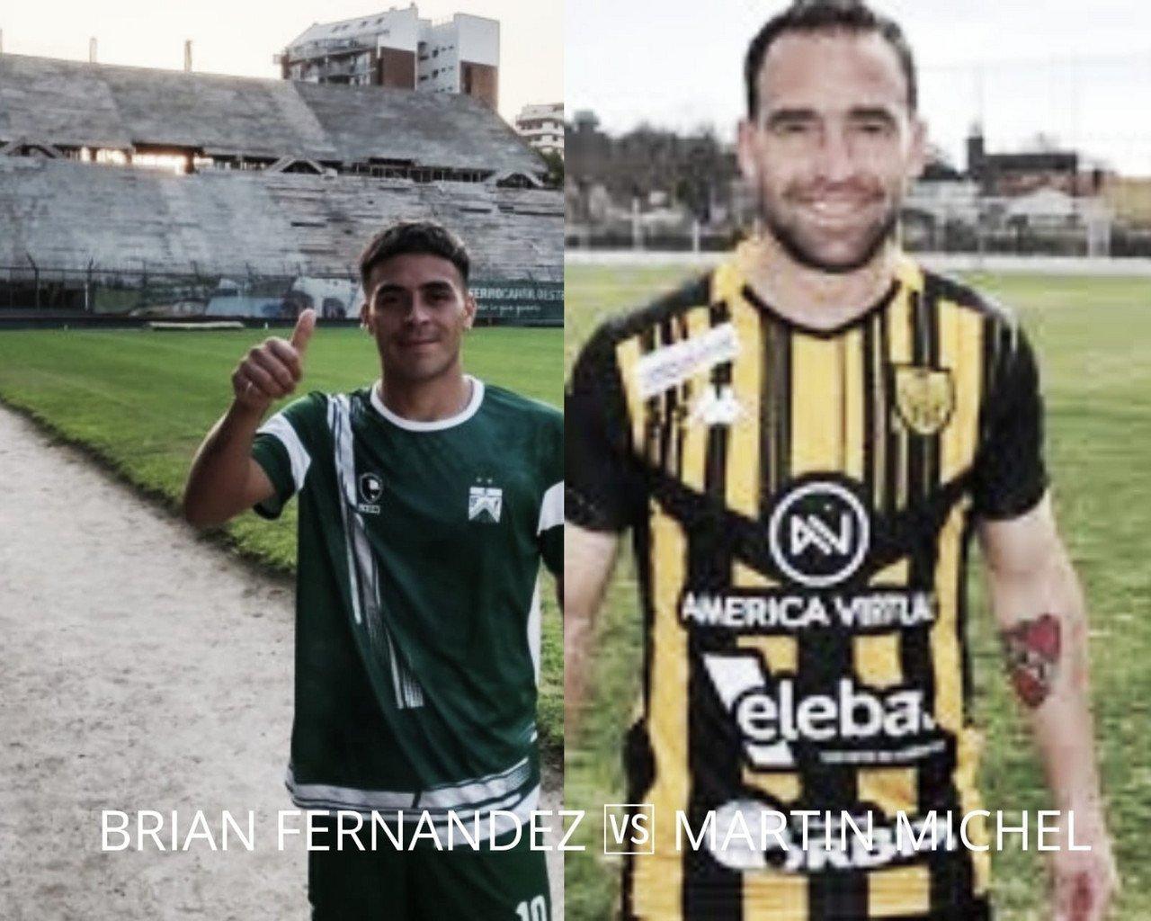 Brian Fernández vs Martín Michel: las llaves del gol