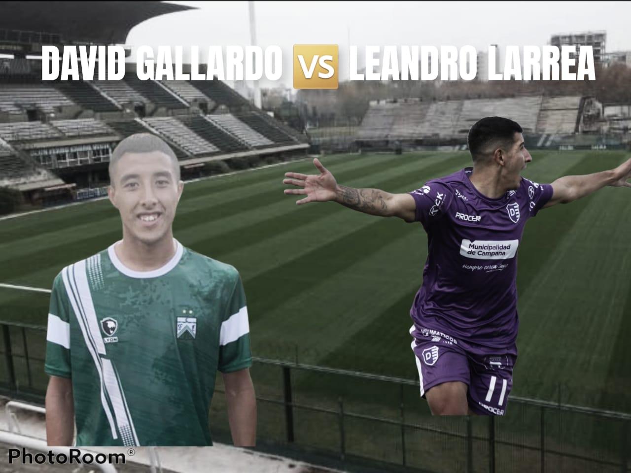 David Gallardo vs Leandro Larrea: Volantes que pisan el área