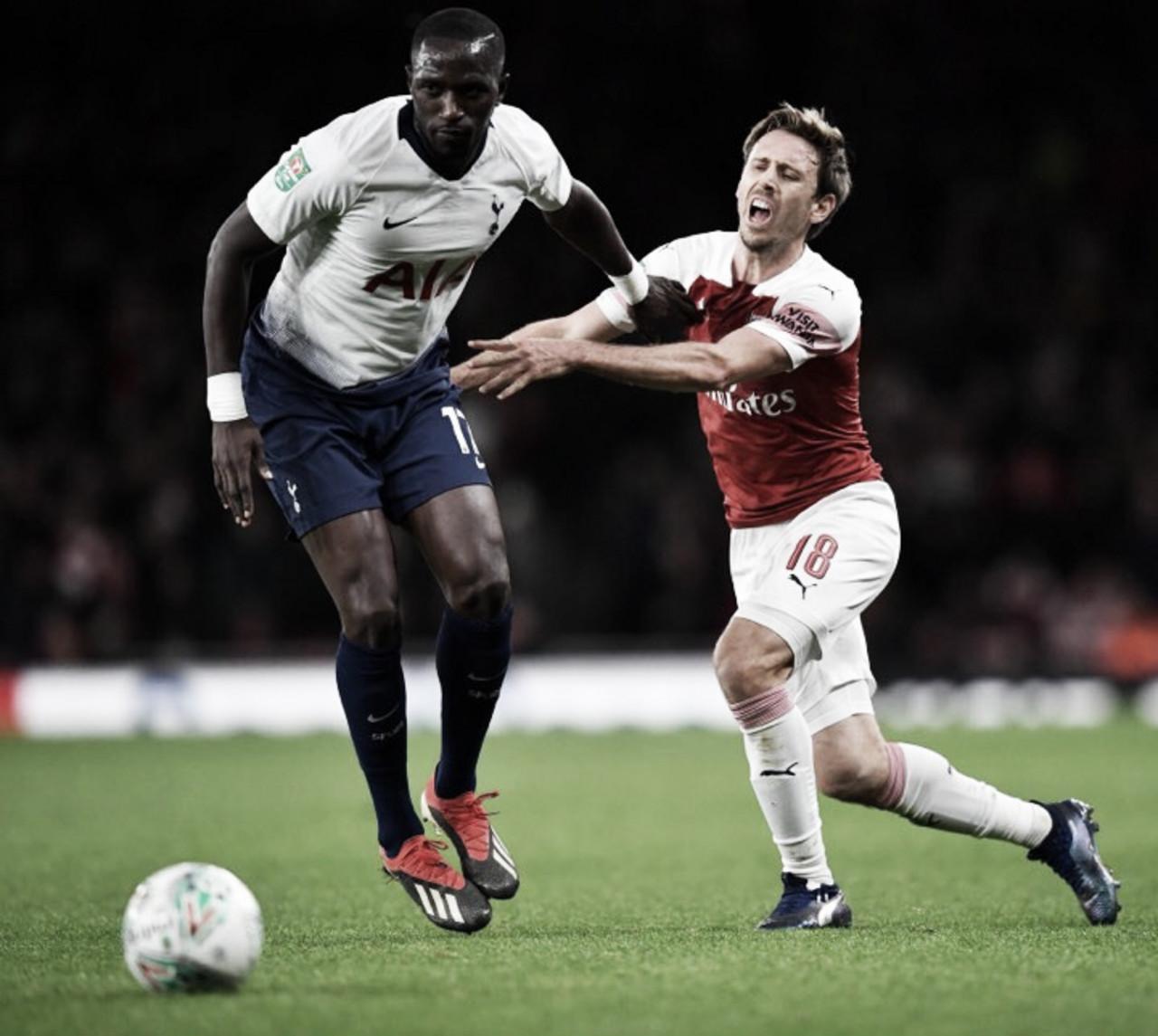 Tottenham elimina Arsenal e se classifica às semis da EFL Cup