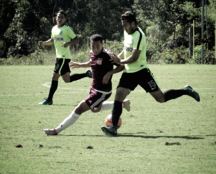 Carabobo FC se midió ante el Atlético Nacional para cerrar su gira por Colombia