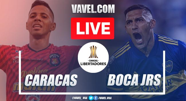 Goals and Highlights: Caracas FC 1-1 Boca Juniors, 2020 Copa Libertadores