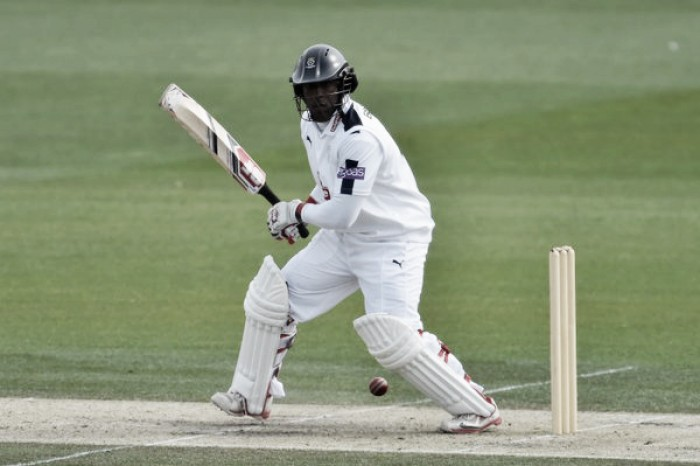 County Championship Division One: Carberry sends timely reminder to England selectors