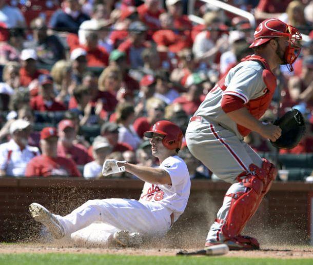 Matts Wild As St. Louis Cardinals Rout Philadelphia Phillies 9-3