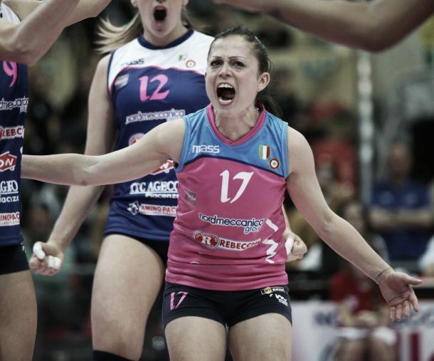 Presentazione delle semifinali scudetto del campionato italiano di volley femminile