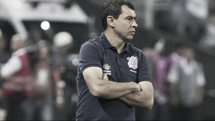 """Fábio Carille lamenta empate e comenta sobre gol anulado: """"Existem erros e erros"""""""