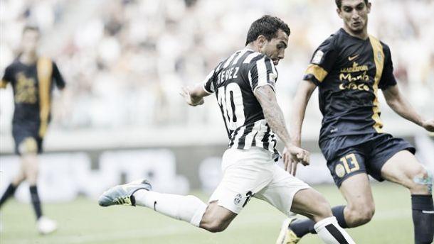 Juventus-Verona, atto primo