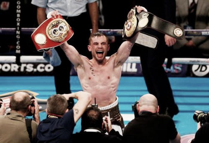 Frampton beats Quigg to unify the super bantamweight division