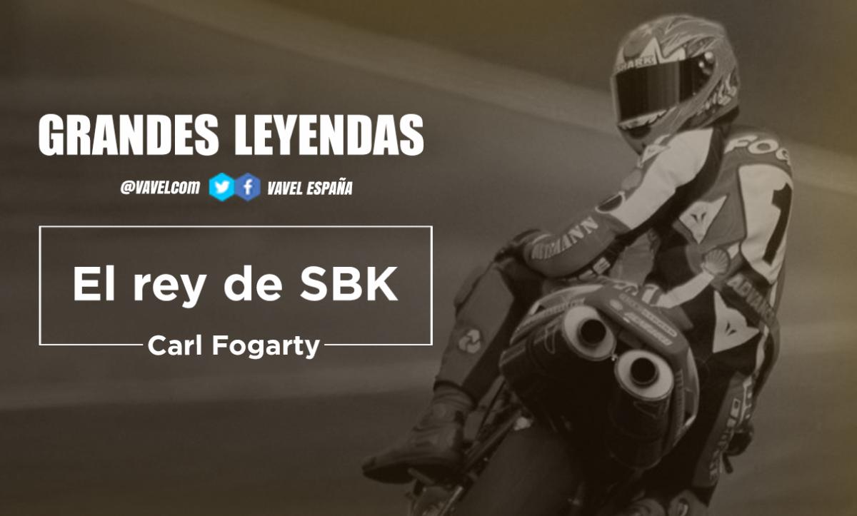Grandes leyendas: Carl Fogarty, el Rey de SBK