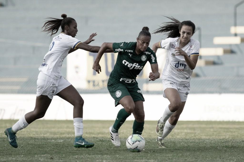 Com gol no último minuto, Palmeiras arranca empate com São José no Brasileiro Feminino