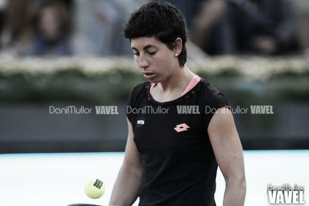 Carla Suárez dice adiós a Roland Garros