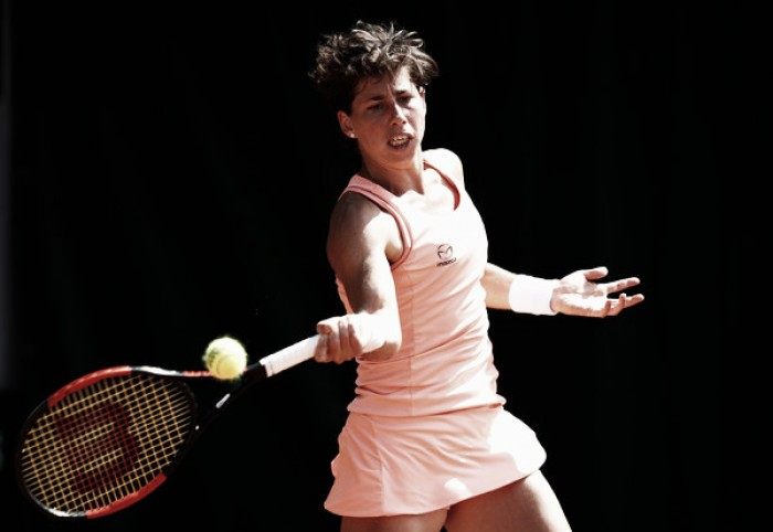 French Open: Carla Suarez Navarro survives opening round challenge
