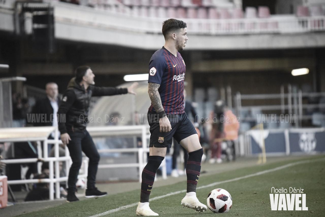"""Carles Pérez: """"El primer equipo da oportunidades a la gente del B"""""""