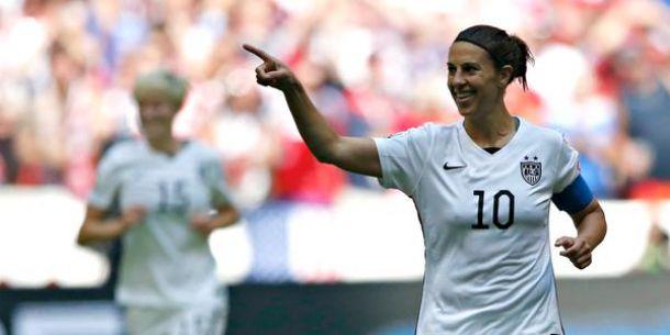 Breaking: Carli Lloyd Scores Fastest Hat Trick In World Cup History