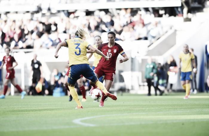 USWNT defeats Sweden 1-0