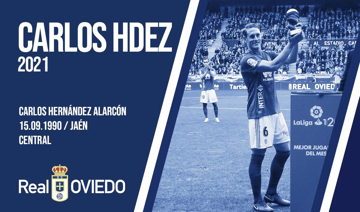 Carlos Hernández y el Real Oviedo, juntos hasta 2021