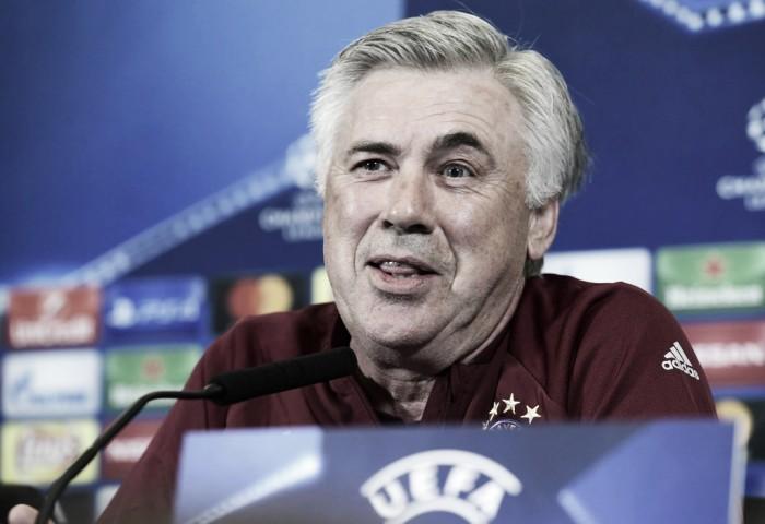Com classificação garantida, Ancelotti afirma que almeja primeiro lugar no Grupo D