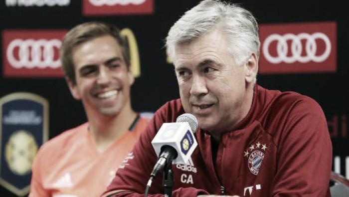 Após amistoso diante do Milan, Ancelotti garante rodízio no Bayern