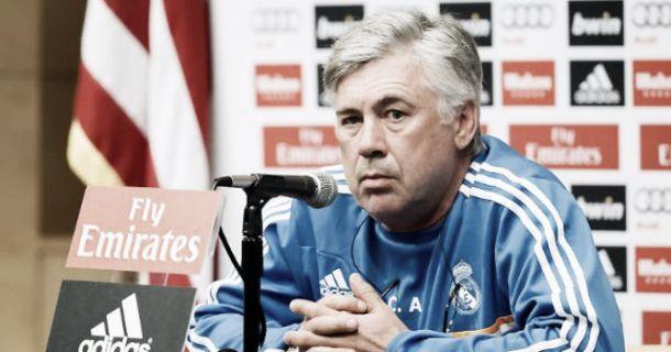 """Ancelotti: """"Fue sorprendente ver al Barça perder la posesión ante el Rayo"""""""