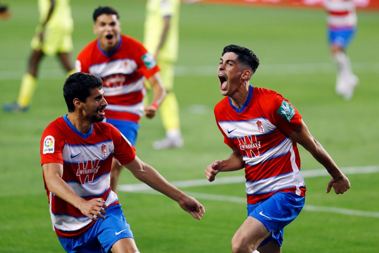 La fe de Carlos Fernández da tres puntos de oro al Granada CF tras el parón