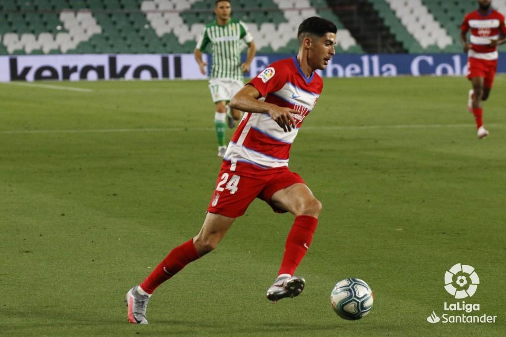Carlos Fernández, la punta de lanza del Granada CF