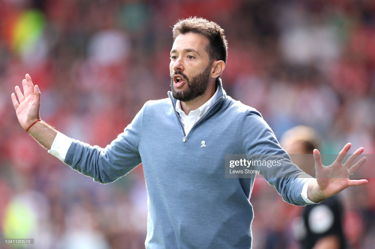 Carlos Corberan's post- Forest comments: The loss, performance & managing the ball