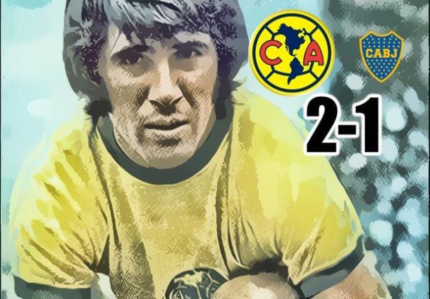 América 2-1 Boca Juniors; noche mágica en el Azteca
