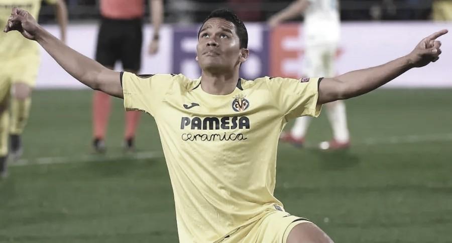 Carlos Bacca fue titular y marcó gol ante el Mallorca del 'Cucho' Hernández