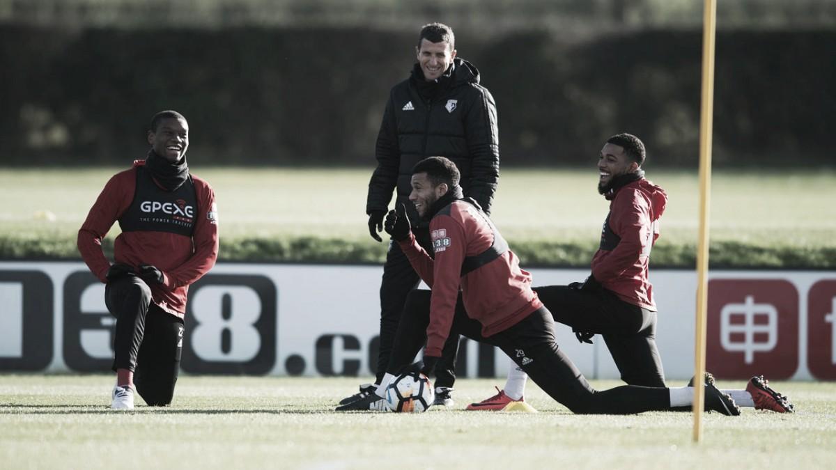"""Javi Gracia: """"Tenemos que mejorar mucho la faceta defensiva"""""""