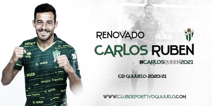 Carlos Rubén continuará en el CD Guijuelo