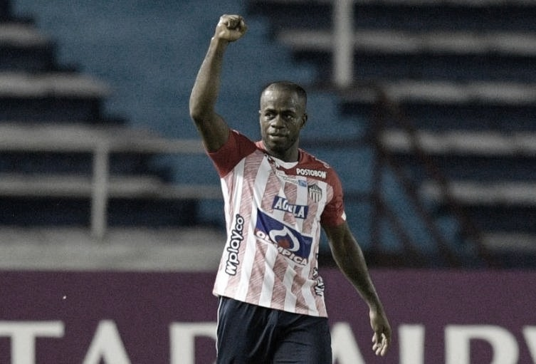 Carmelo Valencia: garra, tripleta y triunfo para el Junior