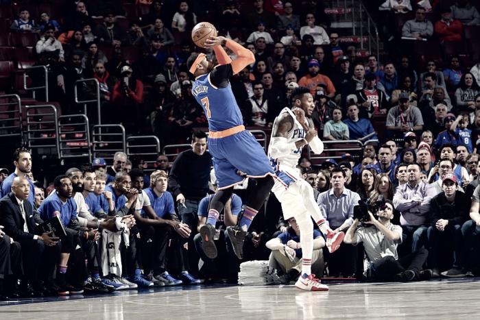 NBA - Carmelo Anthony richiama all'ordine, New York risponde