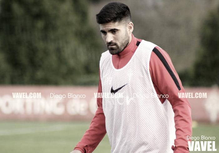 """Carmona: """"Cuando ganas y ayudas al equipo con un gol, te vas contento para casa"""""""
