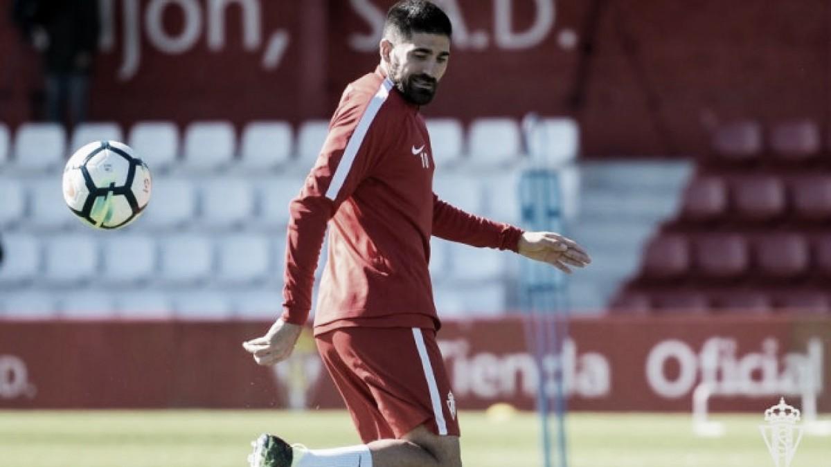 Carlos Carmona, el pulmón del Sporting
