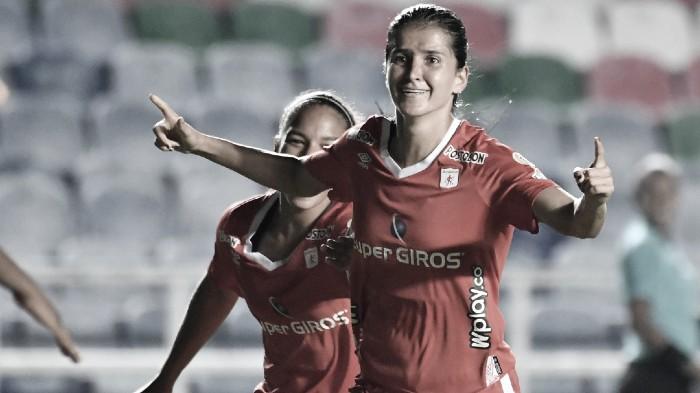 Carolina Pineda, la más destacada contra Corinthians FC