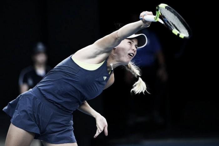 Wozniacki arrasa en su debut en San Petersburgo