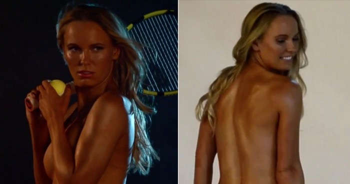 Caroline Wozniacki features in ESPN's The Body Issue