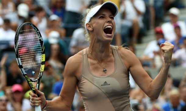 US Open: Wozniacki Upends Sharapova to Reach Quarters