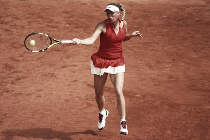 French Open: Caroline Wozniacki suffers huge scare against wildcard