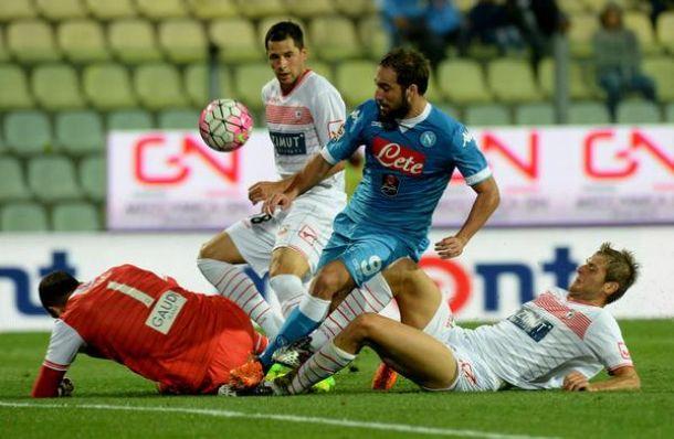 La muraglia di Castori ferma la corsa del Napoli: è 0-0 al Braglia