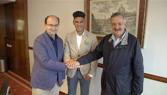El Sevilla hace oficial la incorporación de Jorge Carrascal