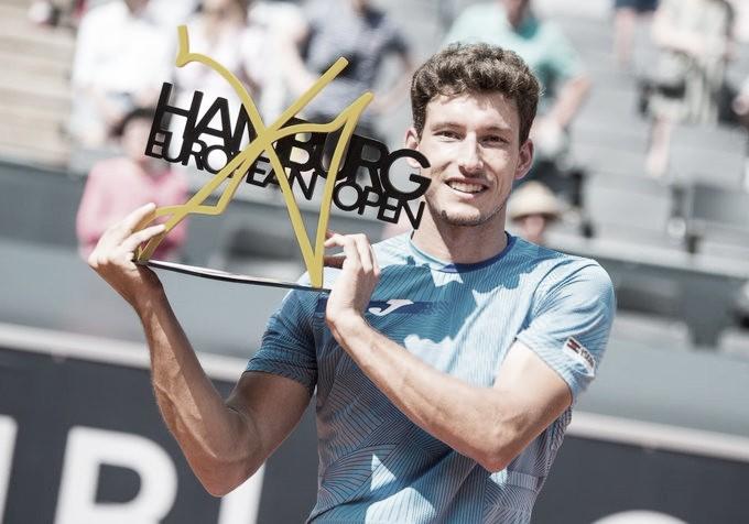 Carreño da lo mejor para vencer en el ATP 500 de Hamburgo