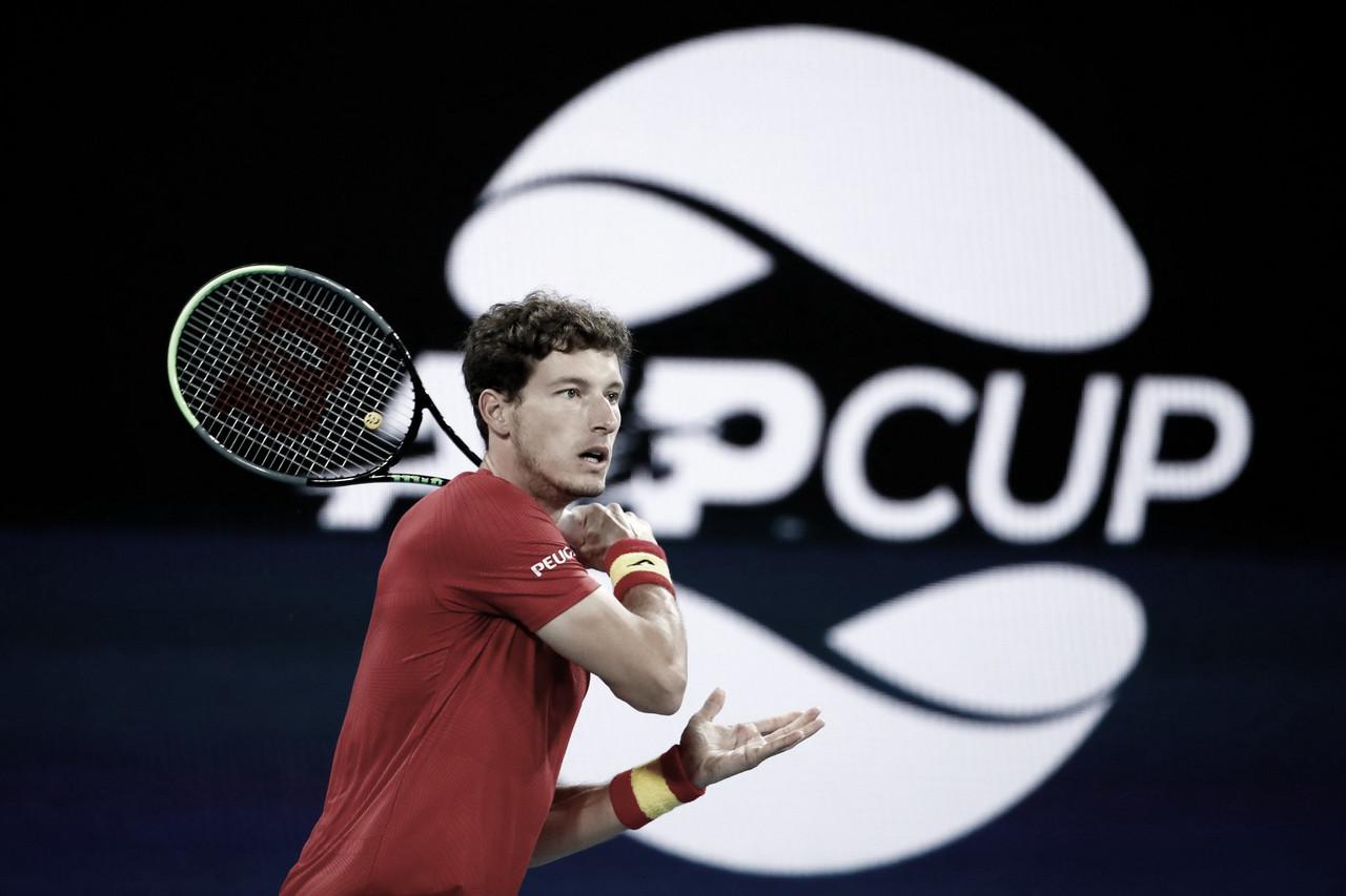 Espanha perde para Grécia, mas se classifica para semifinal da ATP Cup