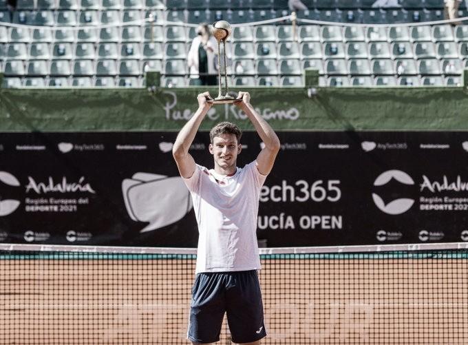 Quinto trofeo para Pablo Carreño en ATP