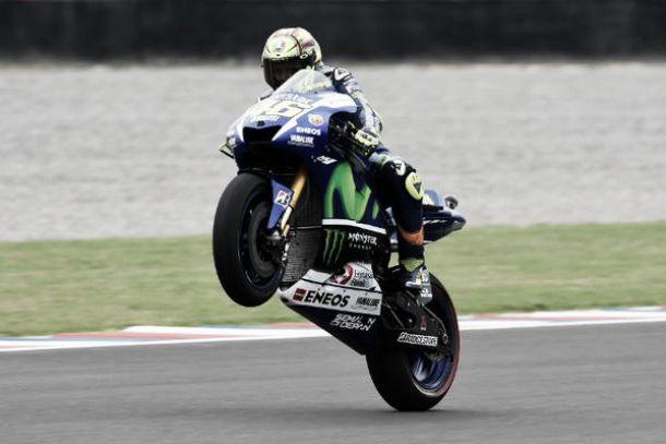 Valentino Rossi, incansable como el viento