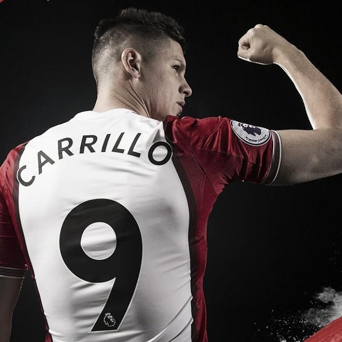 Carrillo llega a Inglaterra y el Pincha sonríe