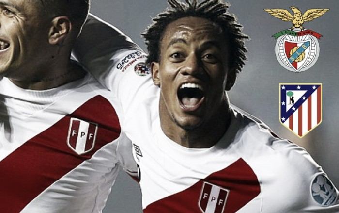 Carrillo entra no negócio: Benfica recebe 50 milhões por Gaitán e peruano