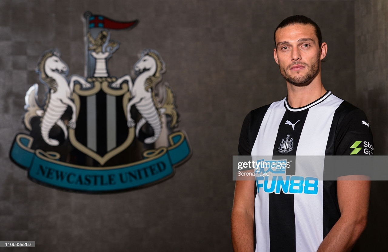 Andy Carroll makes Newcastle United return