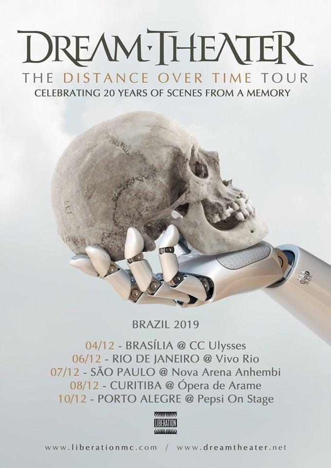 Com direito a festival, Dream Theater volta ao Brasil celebrando 20 anos do Scenes From A Memory