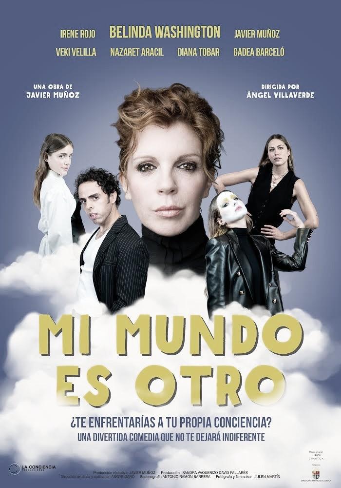 'Mi mundo es otro', la divertida obra de teatro de Belinda Washington